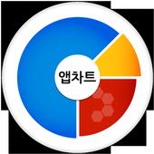 앱차트-추천 어플 주간순위 차트 icon