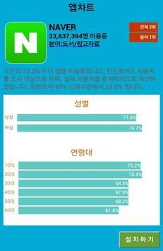 앱차트-추천 어플 주간순위 차트 screenshot 2
