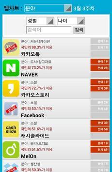 앱차트-추천 어플 주간순위 차트 screenshot 3