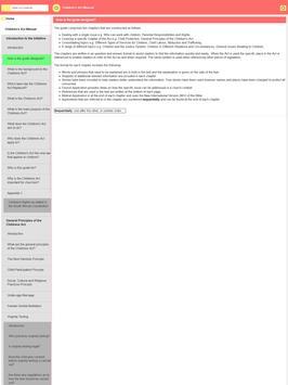 Child Act Manual screenshot 5