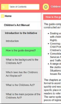 Child Act Manual poster