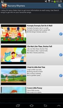 Nursery Rhymes screenshot 10