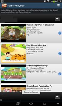 Nursery Rhymes screenshot 9