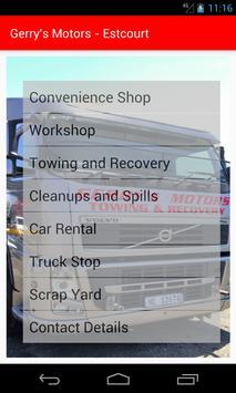 Gerry's Motors poster