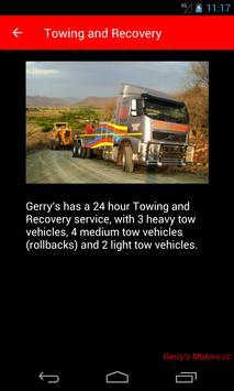 Gerry's Motors apk screenshot