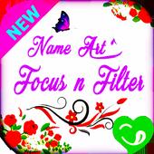 Art Name Focus Filter icon