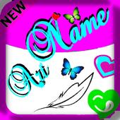Name Art Focus & Filter icon