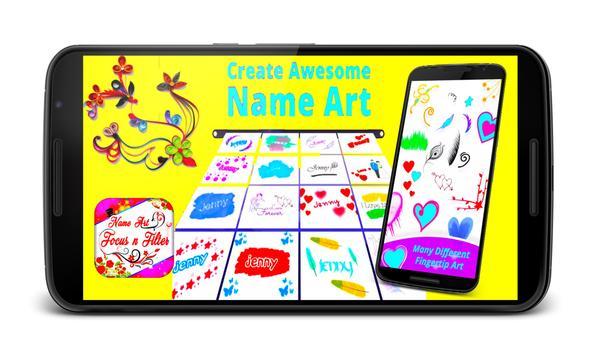 Name Art Focus & Filter screenshot 4