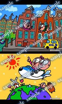 Daily Cartoon009 LWP & Clock apk screenshot