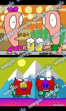Daily Cartoon022 LWP & Clock apk screenshot