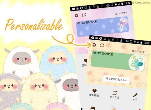 Simple Notepad Flowery Kiss apk screenshot