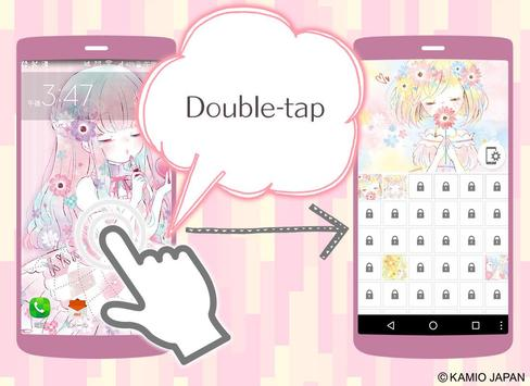 Wallpaper Flowery Kiss screenshot 3