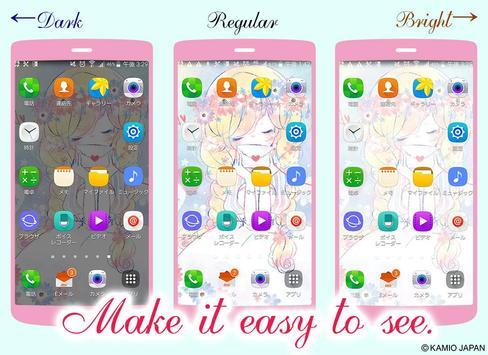 Wallpaper Flowery Kiss screenshot 2
