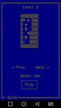 WaHoKe Free (Sokoban in ASCII) apk screenshot