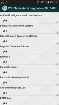 SRM GPA Calculator apk screenshot