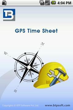 GPS TimeSheet poster