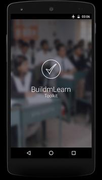 BuildmLearn Toolkit poster