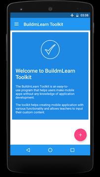 BuildmLearn Toolkit screenshot 1