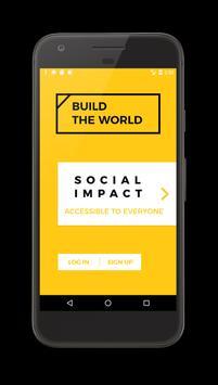 BUILDtheworld - Let's build the world together poster