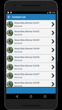 Kicau Murai Batu Borneo Full Isian Lengkap screenshot 2
