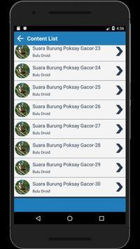 Kicau Burung Poksay Gacor Full Isian Lengkap screenshot 3