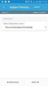 Busara Lab Recruitment App screenshot 4
