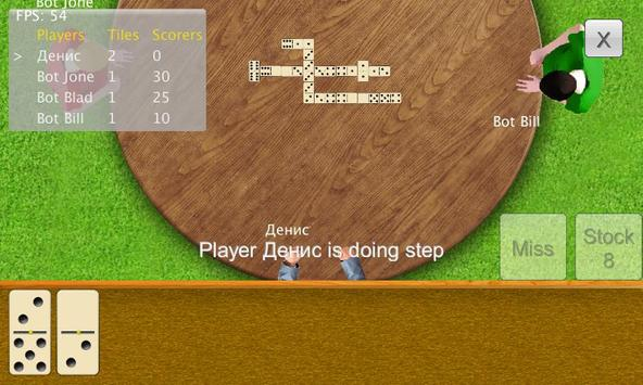 Dominoes Dominoid Lite screenshot 3
