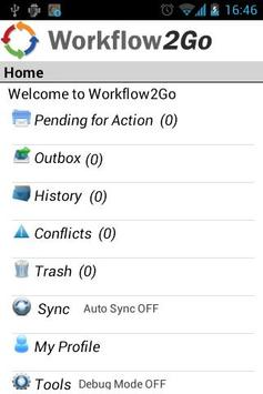 Workflow2Go screenshot 4