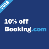 10% off Booking icon