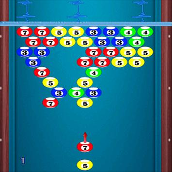 puzzle bubble 8ball shooter poster