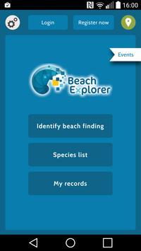 Beach Explorer - Wadden Sea poster