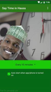 Say time in Hausa (FREE) screenshot 5