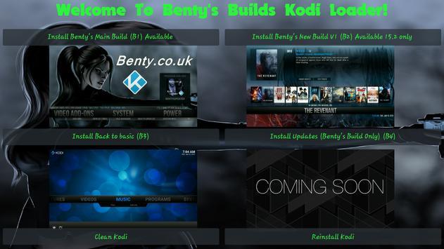 Benty's Builds apk screenshot