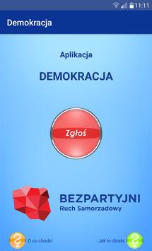 Demokracja poster