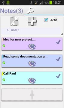 OpenERP Notes screenshot 2
