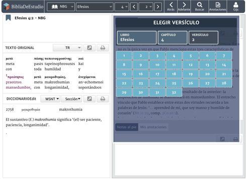 BibliaDeEstudio screenshot 4