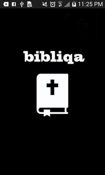 Bibliqa - Bible Quiz App poster