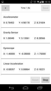 SmartSensors apk screenshot