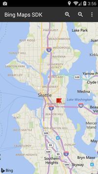 Bing Maps SDK poster