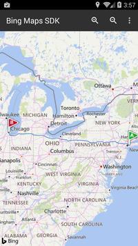 Bing Maps SDK screenshot 1