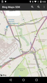 Bing Maps SDK screenshot 2