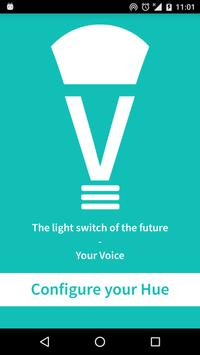 HUE Voice poster