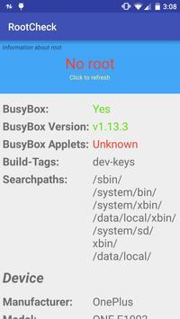 RootCheck screenshot 1
