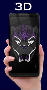 The Black Panther Wallpapers HD apk screenshot
