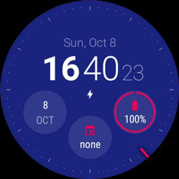 Material Style Watch Face (Unreleased) poster