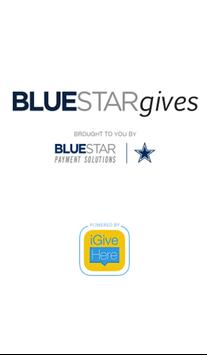 Blue Star Gives poster