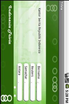 Indonesia in Trivia apk screenshot