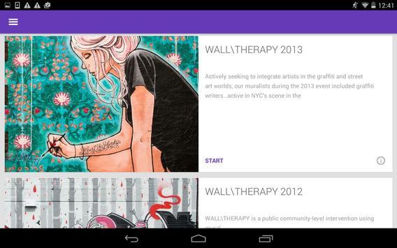 WALL\THERAPY screenshot 1