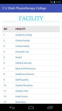 C. U. Shah Physiotherapy College screenshot 7