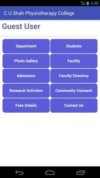 C. U. Shah Physiotherapy College screenshot 2